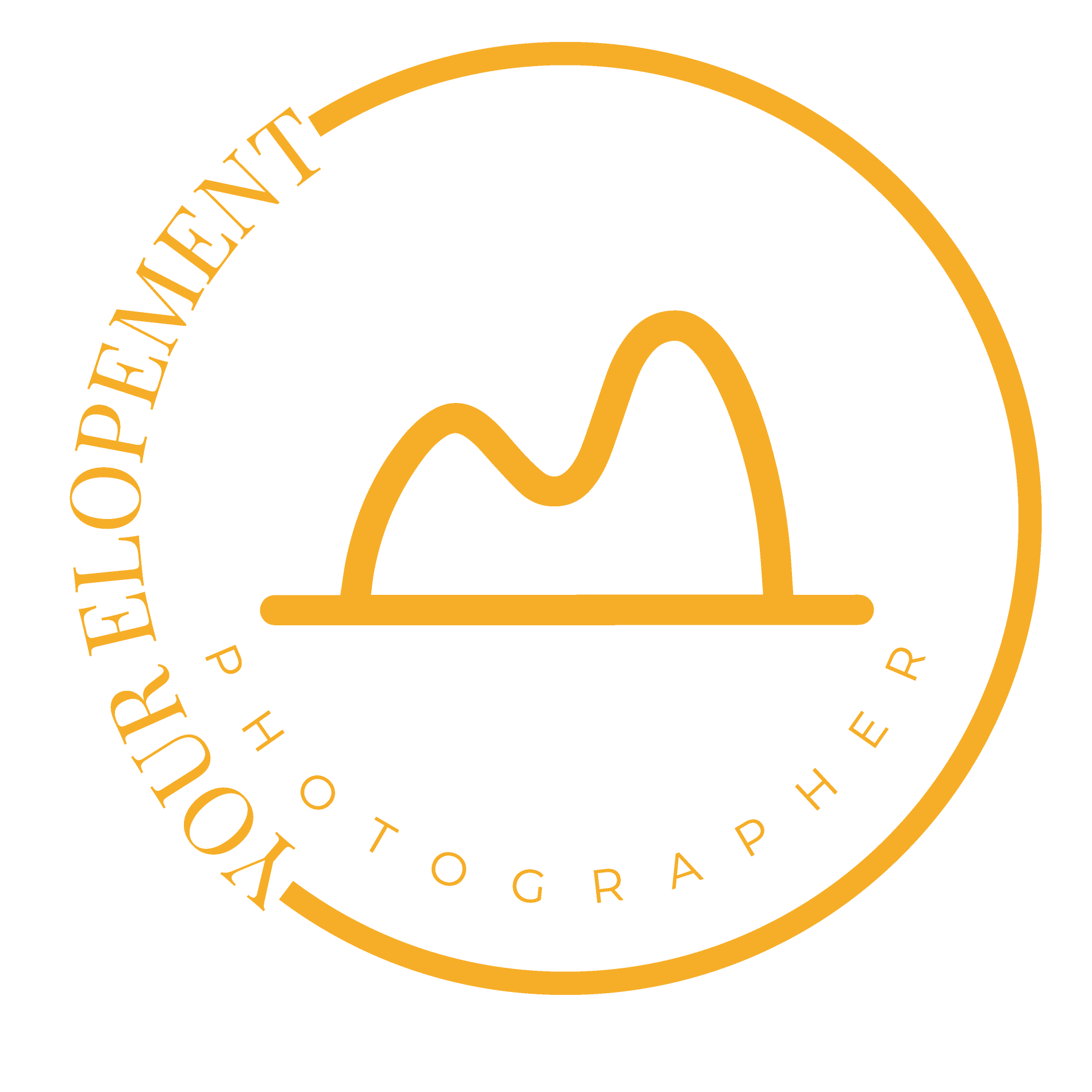 Your elopement photographer logo